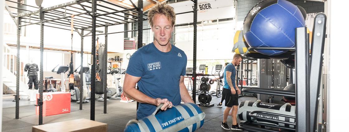 Sportstudio De Boer training