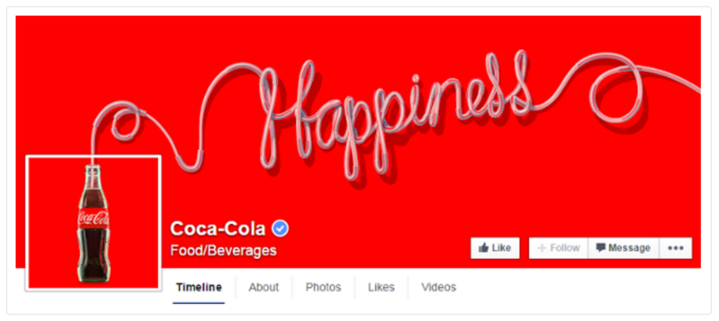 Facebook Coco Cola
