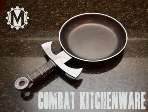 Koken met zwaarden
