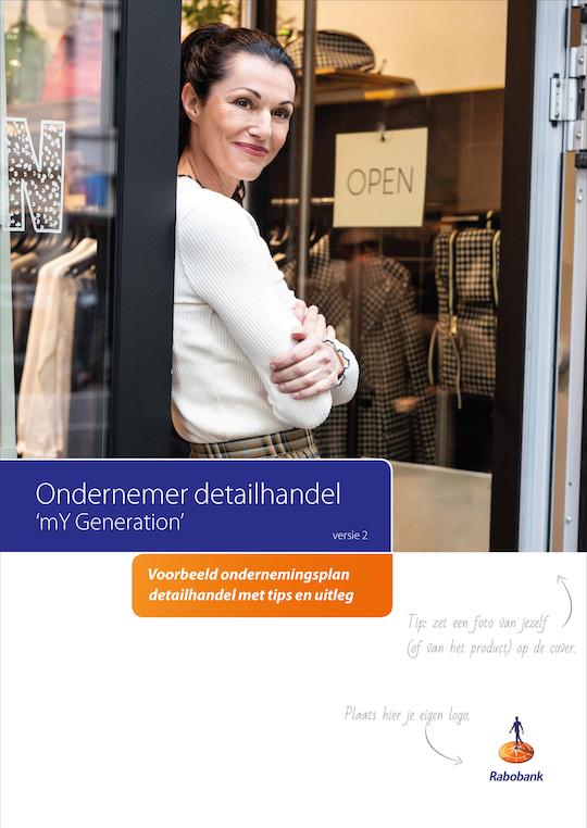 Voorbeeld ondernemingsplan detailhandel - Cover