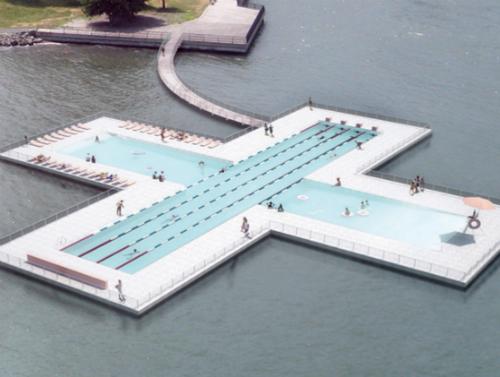 Zwembad met filter
